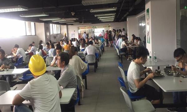 工地饭堂承包:广州番禺南沙电站工地案例