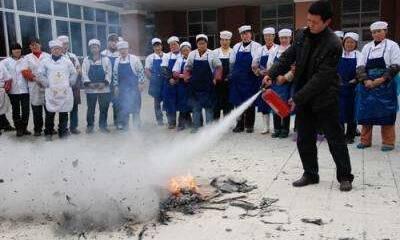 食堂防火制度、消防安全知識