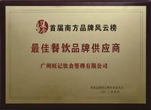 最佳(jia)餐飲品牌供應商